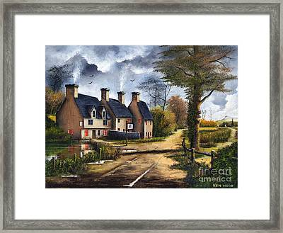 Travellers Rest Framed Print