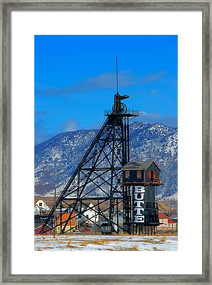 Travona Mine  Framed Print