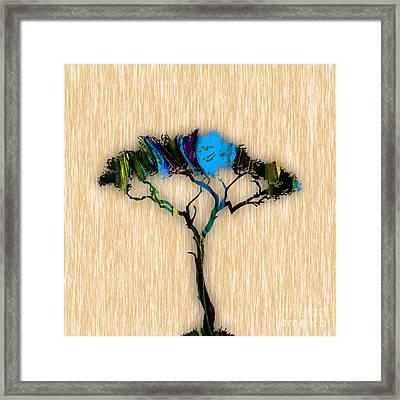 Tree Art Framed Print by Marvin Blaine