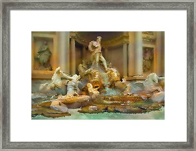 Trevi Fountain Framed Print by Bill Quick
