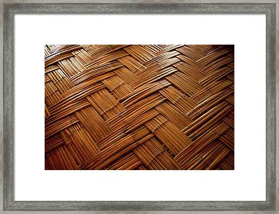 Tribal Homes In Arunachal Pradesh Framed Print by Jaina Mishra