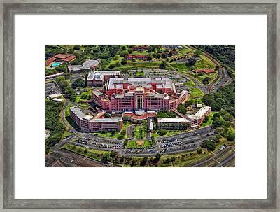 Tripler Army Medical Center - Honolulu Framed Print by Mountain Dreams