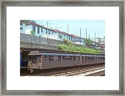 Framed Print featuring the photograph Triplex by Jim Poulos