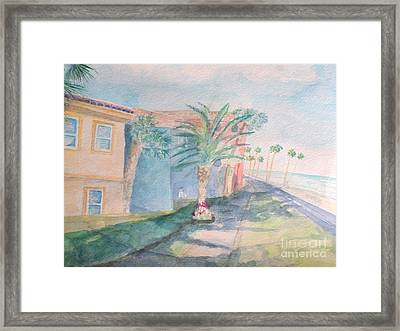 Tropical Breeze Framed Print by Craig Calabrese