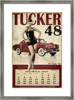 Tucker 48 Framed Print by Cinema Photography