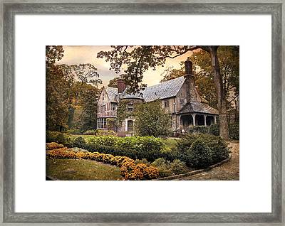 Tudor In Autumn Framed Print by Jessica Jenney