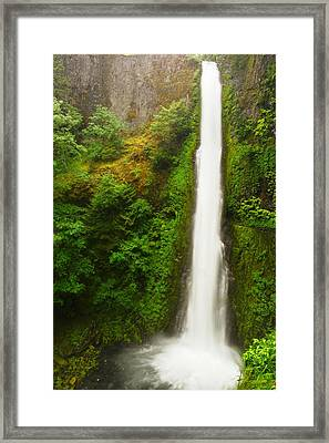Tunnel Falls Framed Print by Jeff Swan