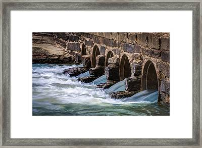 Turbulence Framed Print by James Barber