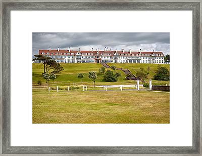Turnberry Resort Framed Print