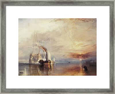 Turner, Joseph Mallord William Framed Print
