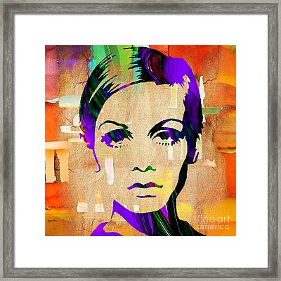 Twiggy Collection Framed Print