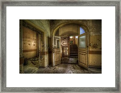 Two Doors Framed Print by Nathan Wright