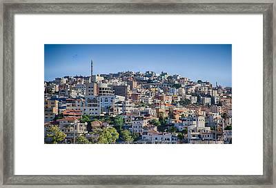 Um El Fahm Framed Print
