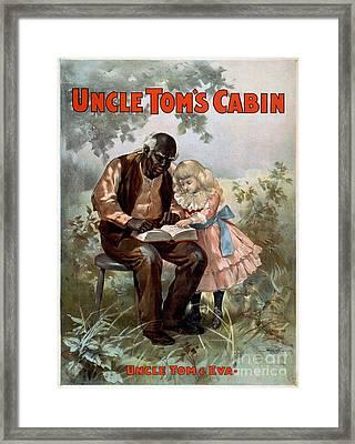 Uncle Toms Cabin, C1899 Framed Print by Granger