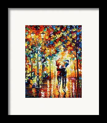 Rainy Framed Prints
