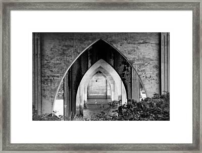 Under The Bridge Framed Print by Katie Wing Vigil