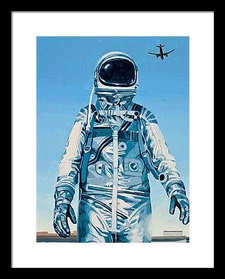 Astronaut Framed Prints