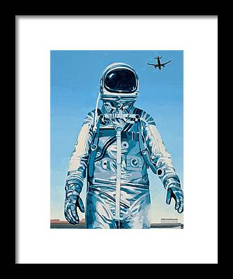 Airplane Framed Prints