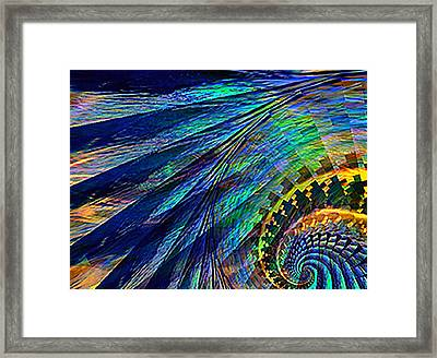 Under The Wing Framed Print by Rebecca Phillips