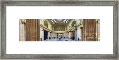 Union Station In Chicago Framed Print