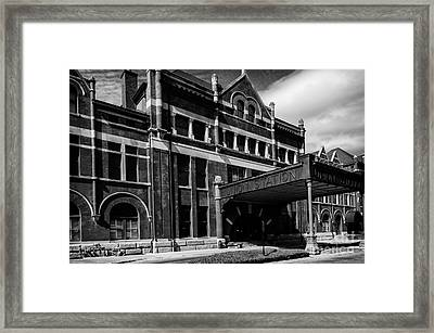 Union Station In Montgomery Alabama Framed Print