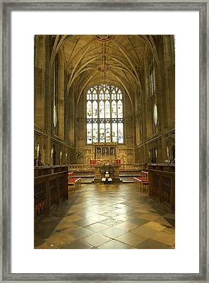 United Kingdom. England. Warwick Framed Print