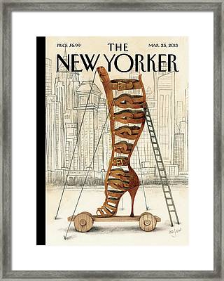 New Yorker March 25th, 2013 Framed Print