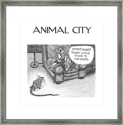 New Yorker June 5th, 2000 Framed Print by Arnold Roth