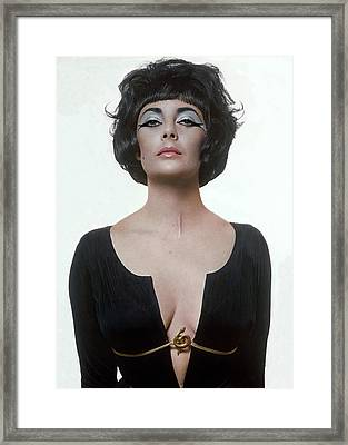 Vogue January 15th, 1962 Framed Print by Bert Stern
