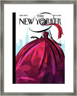 New Yorker May 6th, 2013 Framed Print by Birgit Schossow