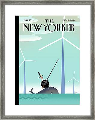 New Yorker May 10th, 2010 Framed Print