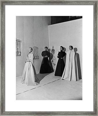 Vogue  Framed Print by Cecil Beaton