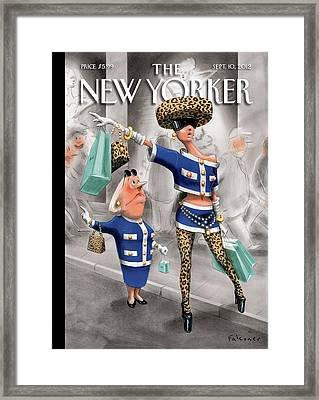 New Yorker September 10th, 2012 Framed Print