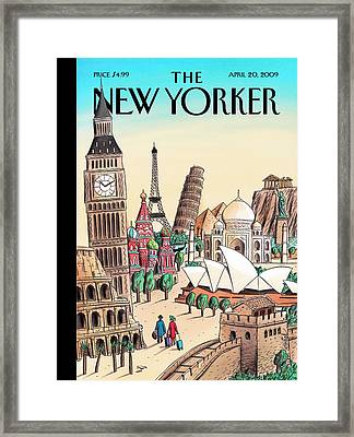 New Yorker April 20th, 2009 Framed Print
