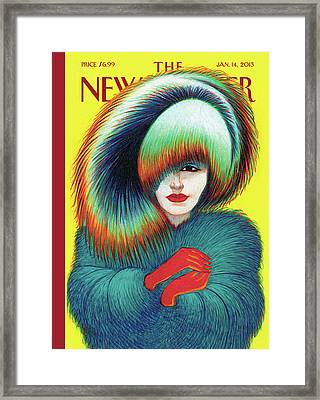 New Yorker January 14th, 2013 Framed Print