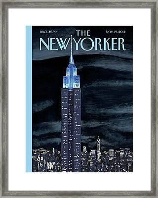 New Yorker November 19th, 2012 Framed Print