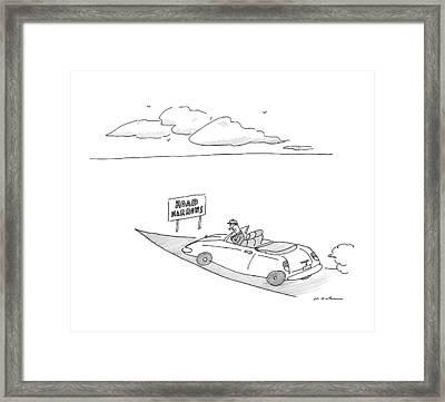 New Yorker December 19th, 2016 Framed Print