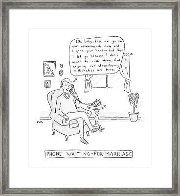 New Yorker June 2nd, 2008 Framed Print