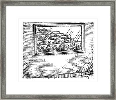 New Yorker May 12th, 2008 Framed Print