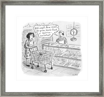 New Yorker November 7th, 2016 Framed Print by Roz Chast