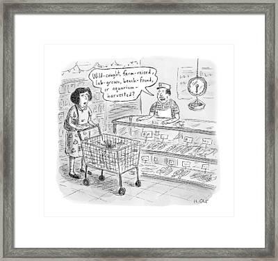 New Yorker November 7th, 2016 Framed Print by Roz Chast