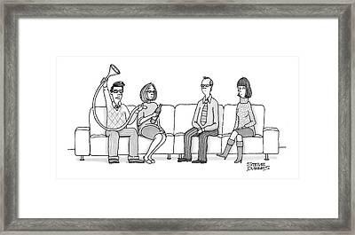Funnel? Framed Print