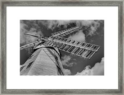 Upminster Windmill Essex England Framed Print by David Pyatt