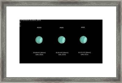 Uranus Framed Print by Damian Peach