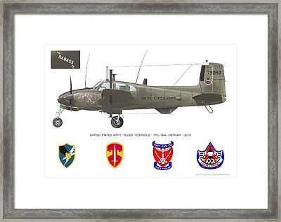 U.s. Army Ru-8d Card Or Mug Art Framed Print