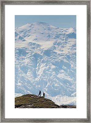 Usa, Alaska, Denali National Park Framed Print by Hugh Rose
