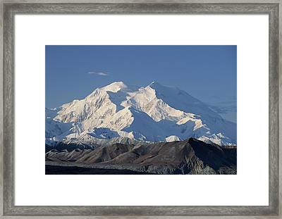 Usa, Alaska, Mount Mckinley, Denali Framed Print by Gerry Reynolds