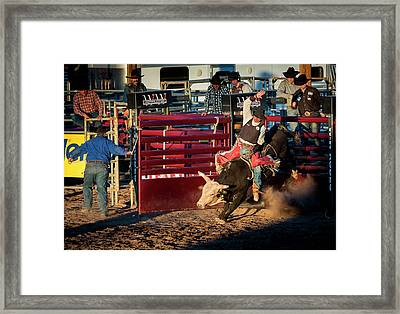Usa, Arizona, Buckeye, Hellzapoppin Framed Print by Jaynes Gallery