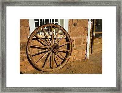 Usa, Arizona, Hubbell Trading Post Framed Print