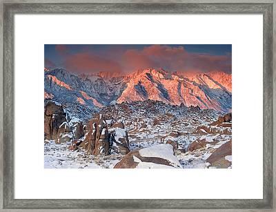 Usa, California, Eastern Sierra Framed Print by Jaynes Gallery